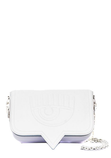 WHITE EYELIKE MODEL BAG CHIARA FERRAGNI | Bags | CFPT008BIANCO