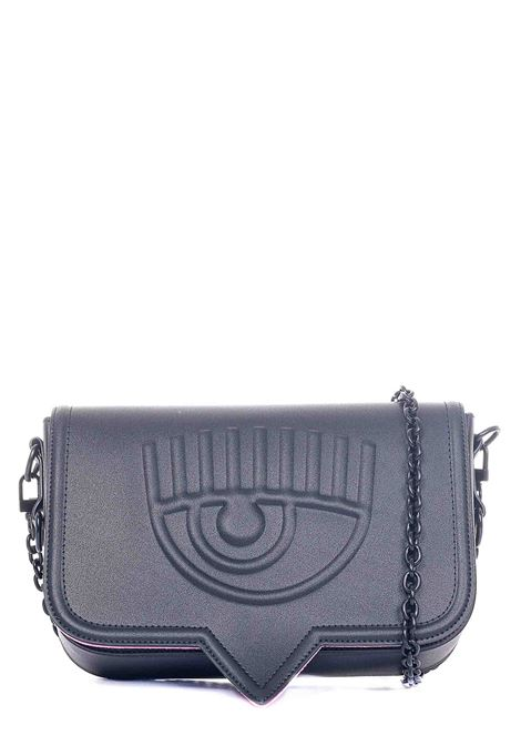 BLACK EYELIKE MODEL BAG CHIARA FERRAGNI | Bags | CFPT008NERO