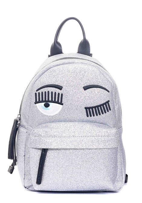 FLIRTING MODEL GLITTER BACKPACK CHIARA FERRAGNI |  | CFZ072ARGENTO