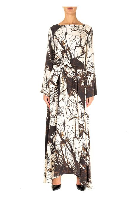 LONG MULTICOLR SILK DRESS CO.GO | Dress | 20FMMV17820FSE10505301