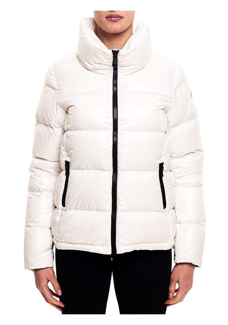WHITE DOWN JACKET WITH LOGO APPLICATION ON THE SLEEVE COLMAR |  | 22485TW01