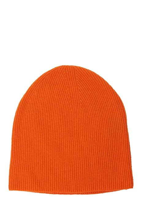 CASHMERE ORANGE HAT DELLA CIANA | Hats | 079277330