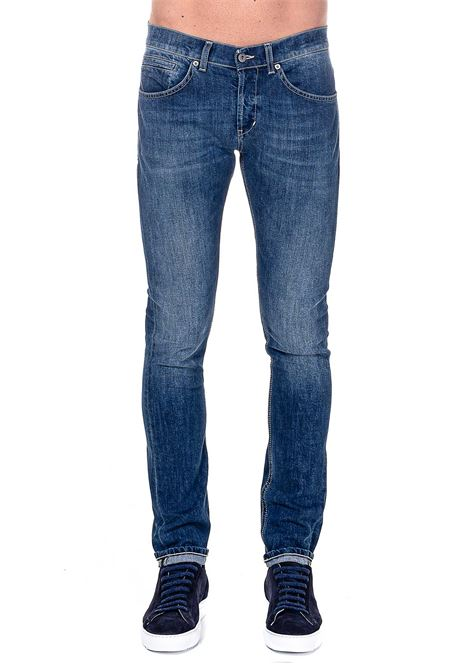 JEANS IN COTONE MODELLO GEORGE SKINNY FIT DONDUP | Jeans | UP232DS0257AN4DUW20800