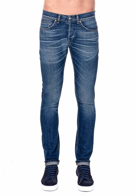 JEANS IN COTONE MODELLO GEORGE DONDUP | Jeans | UP232DS0284AQ7DUW20800