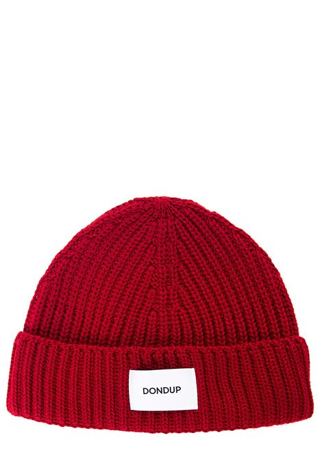 RED WOOL BLEND HAT DONDUP | Hats | UQ065Y00474XXDUW20500