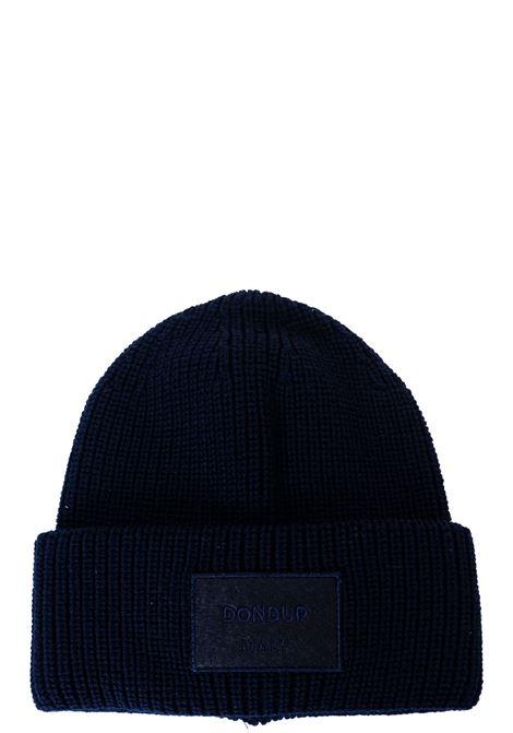 BLUE WOOL HAT DONDUP | Hats | UQ088Y00478ZI6DUW20890