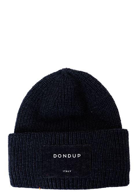 BLACK WOOL HAT DONDUP | Hats | UQ088Y00478ZI7DUW20999