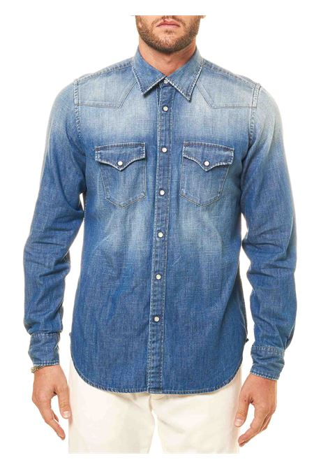 COTTON DENIM SHIRT ELEVENTY | Shirts | B70CAMB01TES0B10711