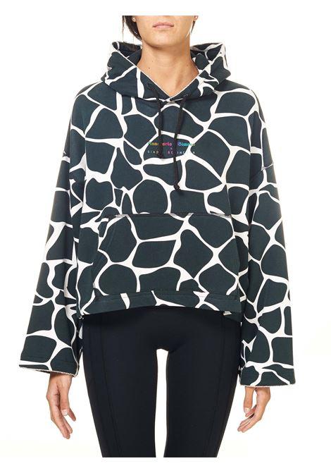 MULTICOLOR SWEATSHIRT IN COTTON, NO FACE MODEL GIADA BENINCASA | Sweatshirts | NF1011/A004
