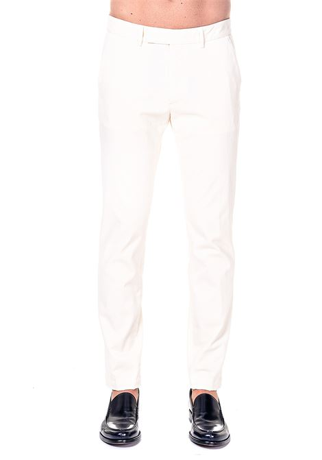 PANTALONI PANNA IN COTONE GRIFONI | Pantaloni | GH140010R/21045