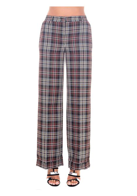 HIGH WAISTED CHECK TROUSERS GRIFONI |  | GH240013/254002