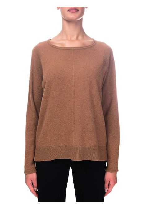 BROWN CASHMERE SWEATER HEMISPHERE | Sweaters | 2021301-47224