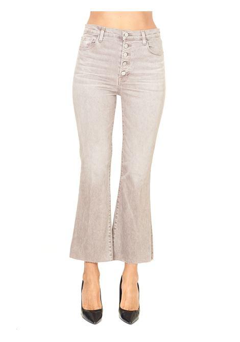 JEANS GRIGIO VITA ALTA CROPPED MODELLO LILLIE J BRAND | Jeans | JB00309923124T205J04811