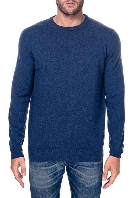 BLUE SWEATER IN CASHMERE KANGRA | Sweaters | 100301413
