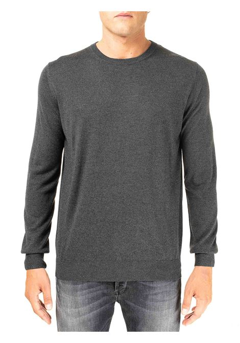 GRAY SILK AND CASHMERE SWEATER KANGRA | Sweaters | 100401201
