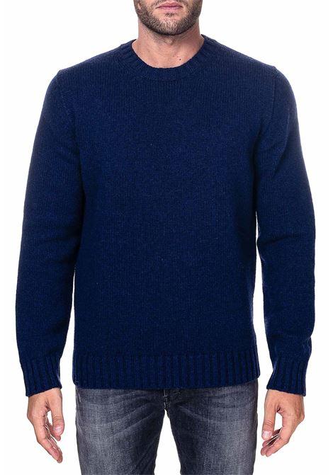 BLUE MERINO WOOL SWEATER KANGRA | Sweaters | 120001688