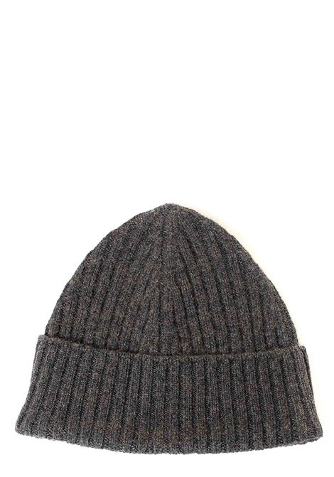 GRAY CASHMERE HAT KANGRA | Hats | 12082533