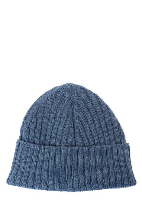 BLUE CASHMERE HAT KANGRA | Hats | 120825413