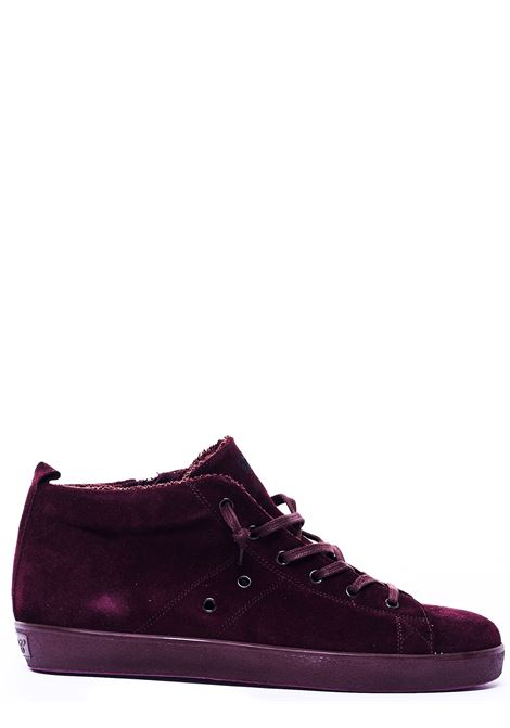 SNEAKERS BORDEAUX IN CAMOSCIO LEATHER CROWN | Sneakers | M350-3BORDEAUX