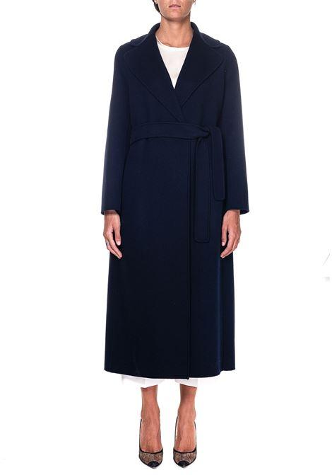BLUE WOOL COAT POLDO MODEL MAX MARA'S | Coats | 90160103600700012