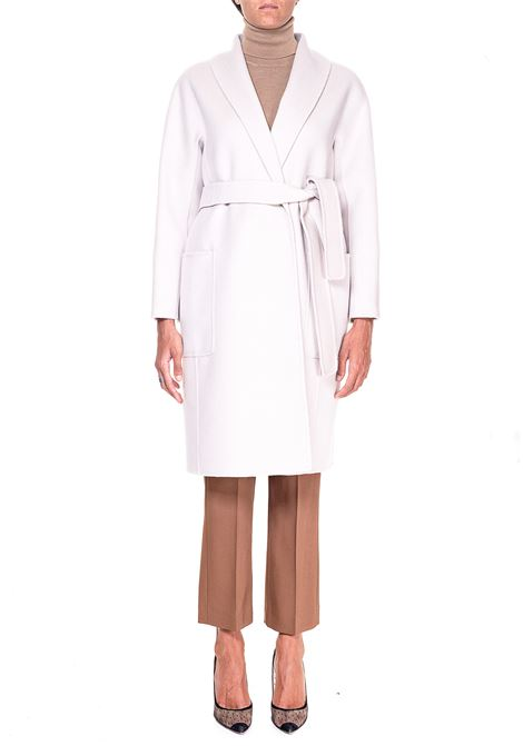 CREAM COAT IN MIXED WOOL AND CASHEMRE ALICIA MODEL MAX MARA'S | Coats | 90160703600800011