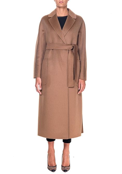 CAMEL COAT IN MIXED WOOL AND CASHEMIRE AMORE MAX MARA'S | Coats | 90161103600800009