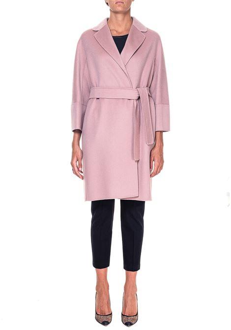 PINK COAT IN WOOL ARONA MODEL MAX MARA'S | Coats | 90161309600700074