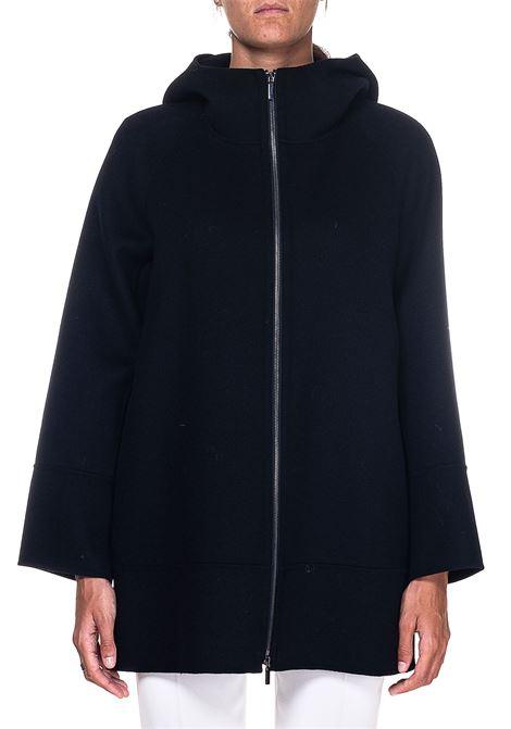 BLACK WOOL COAT MOZART MODEL MAX MARA'S | Coats | 90860103600700013