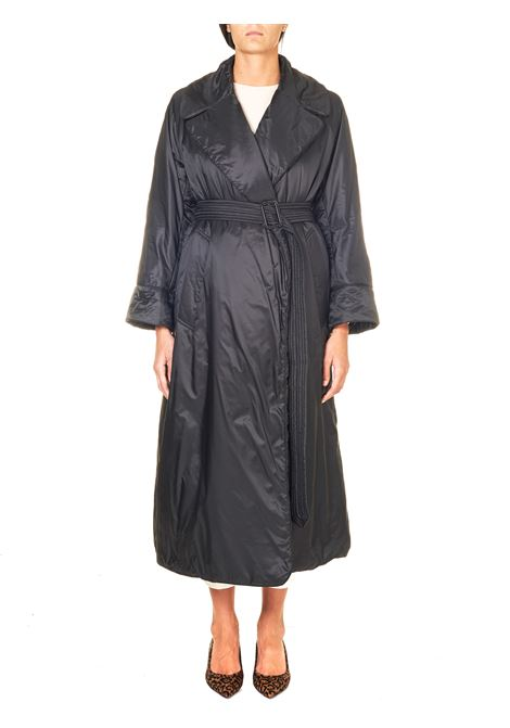 BLACK COAT PADDED IN ANTI-DROP CANVAS MODEL GREENCI MAX MARA'S | Jackets | 94961606600009