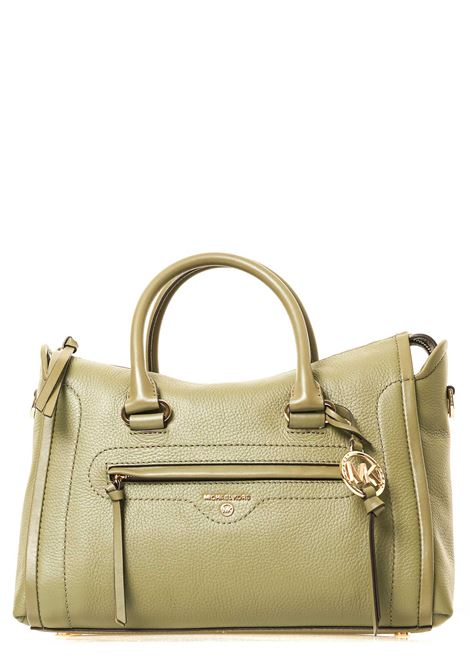 GREEN LEATHER BAG CARINE MODEL MICHAEL DI MICHAEL KORS | Bags | 30S0GCCS2L342CARINEARMY