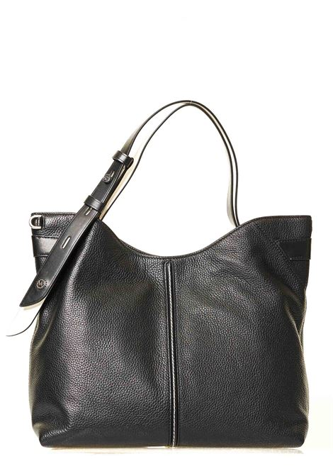 BLACK LEATHER BAG DOWNTOWN ASTOR MODEL MICHAEL DI MICHAEL KORS | Bags | 30S0SW2L9Y012DOENTOWNASTORNERO