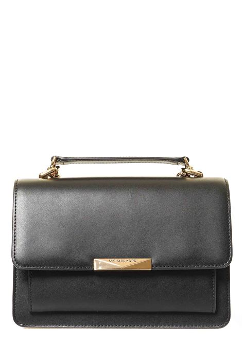 BLACK LEATHER BAG JADE MODEL MICHAEL DI MICHAEL KORS | Bags | 30S9GJ4L9L001JADENERO