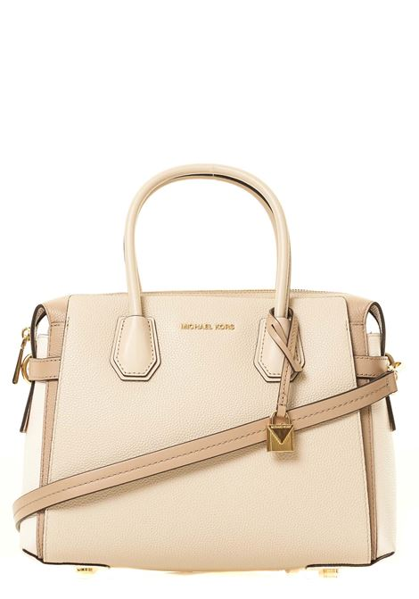 BEIGE MERCER HAND BAG IN HAMMERED LEATHER MICHAEL DI MICHAEL KORS | Bags | 30S9GM9S2T172MERCERMULTICOLOR
