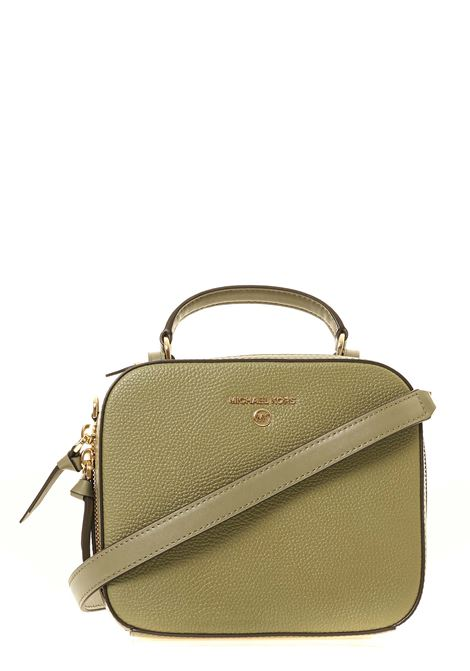 GREEN LEATHER BAG JET SET CHARM MODEL MICHAEL DI MICHAEL KORS | Bags | 32T0GT9C2L342JETSETCHARMARMY