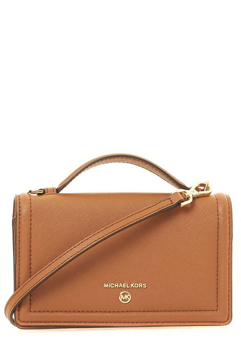 LEATHER BAG IN LEATHER JET SET CHARM MODEL MICHAEL DI MICHAEL KORS | Bags | 32T0GT9C5L230JETSETCHARMLUGGAGE