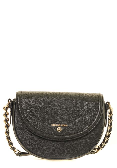BLACK LEATHER BAG JET SET CHARM MODEL MICHAEL DI MICHAEL KORS | Bags | 32T0GT9C6L001JETSETCHARMNERO