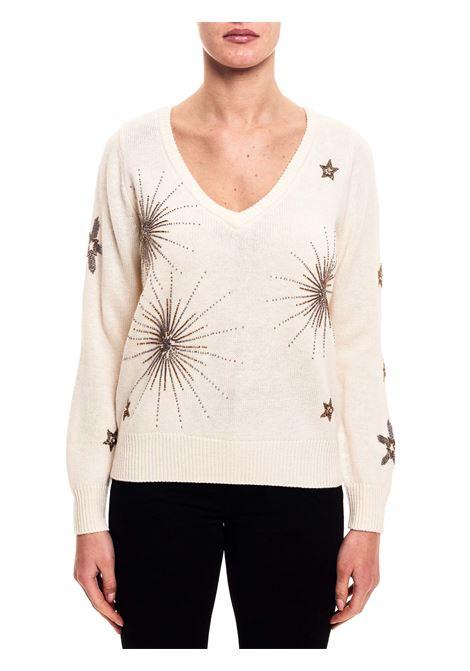 BEIGE PULLOVER IN WOOL BARBUDA MODEL PINKO | Sweaters | BARBUDA1G15BZY6F1Z05