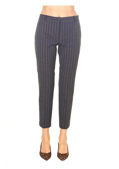 LUREX PINSTRIPE CIGARETTE-FIT PANTS MODEL BELLO 92 PINKO | Pants | BELLO92 1G15H38146IL0