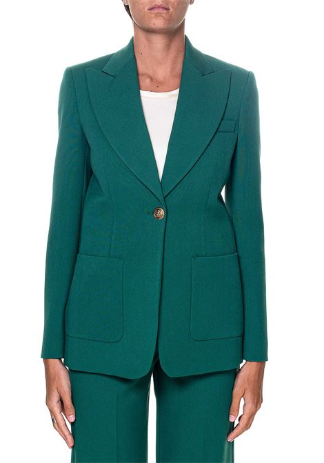 GREEN BLAZER WITH JEWEL BUTTON, CASSEGRAIN MODEL PINKO |  | CASSEGRAIN1 1B14VC6087X43