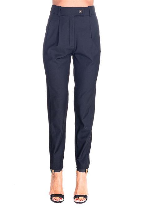BLACK CARROT-FIT PANTS IN WOOL GABARDINE CEFEO MODEL PINKO | Pants | CEFEO1B14NJ6116Z99