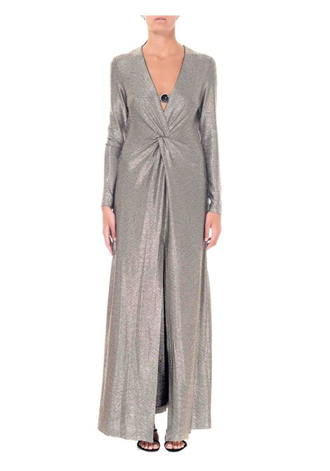 LONG DRESS IN LAMINATED JERSEY CIRCOLO MODEL PINKO | Dress | CIRCOLO1B14N18280HZ2