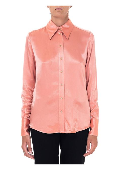 FLUID SHIRT IN FRIOSSE 'SATIN CIRCUMPULAR MODEL PINKO | Shirts | CIRCUMPOLARE1B14Q18255P96