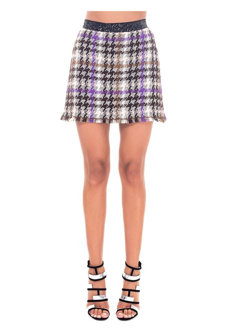 MINISKIRT IN CHECK MAT LAVA MODEL PINKO | Skirts | LAVA1B14WK8243LW1