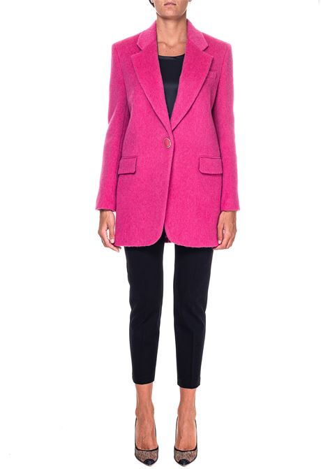 FUCHSIA JACKET IN MOHAIR CLOTH LEVANTE MODEL PINKO | Jackets | LEVANTE1B14RZ8240P30