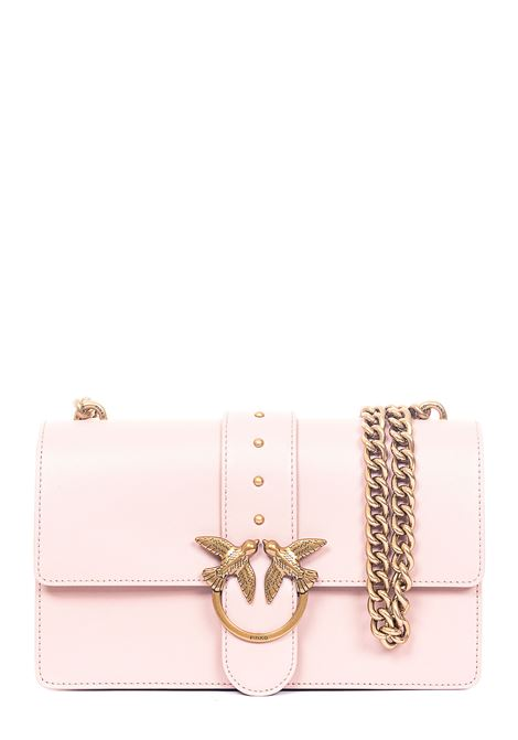 LOVE CLASSIC ICON PINK LEATHER BAG PINKO | Bags | LOVECLASSICICONSIMPLYC 1P21SEY6JCQ19