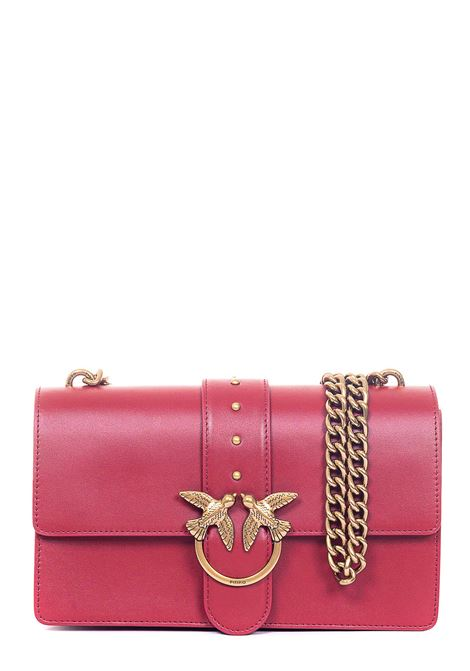 LOVE CLASSIC ICON RED LEATHER BAG PINKO | Bags | LOVECLASSICICONSIMPLYC 1P21SEY6JCR72