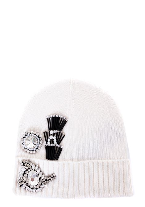 BEANIE BEANIE WITH JEWEL APPLICATION DRY CAP MODEL PINKO | Hats | SECCO1B206LY6PQZ06