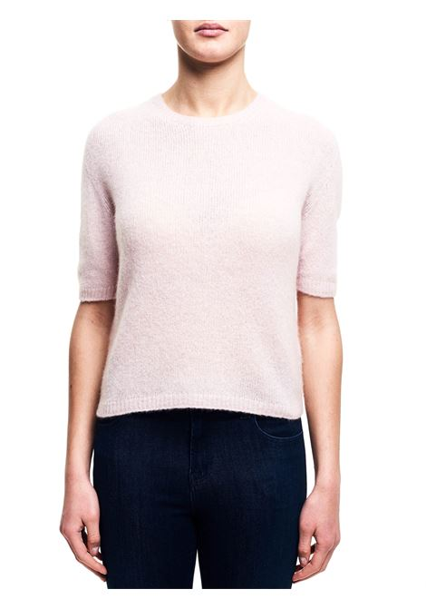 CASHMERE AND SILK PINK SWEATER ROBERTO COLLINA | Sweaters | D0122131