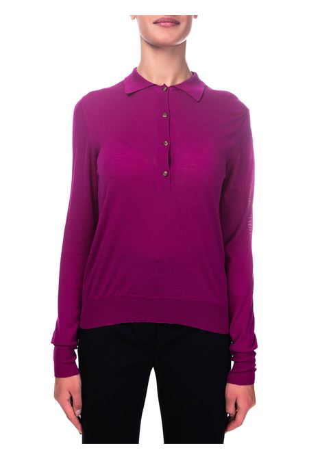 PURPLE WOOL SWEATER ROBERTO COLLINA | Sweaters | D03004D0335