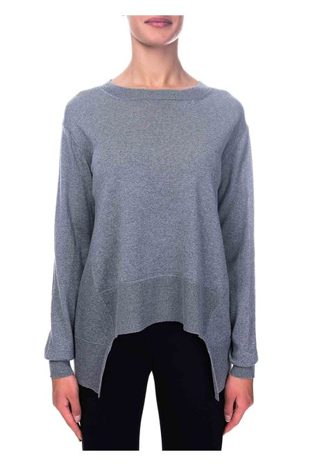 GRAY WOOL SWEATER ROBERTO COLLINA | Sweaters | D08101D0818